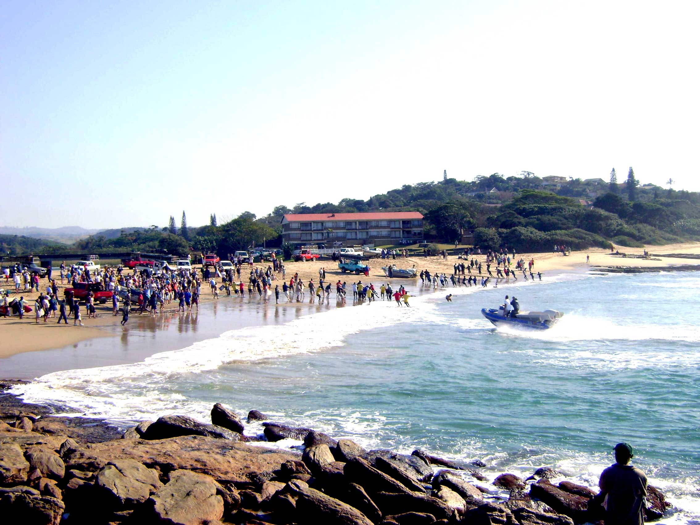 Sardine netting South Coast KZN South Africa -St Michaels Self Catering Holiday Accommodation